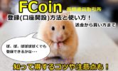 仮想通貨取引所FCoin登録(口座開設)方法と使い方!送金から買い方までを徹底画像解説!知って得するコツや注意点も